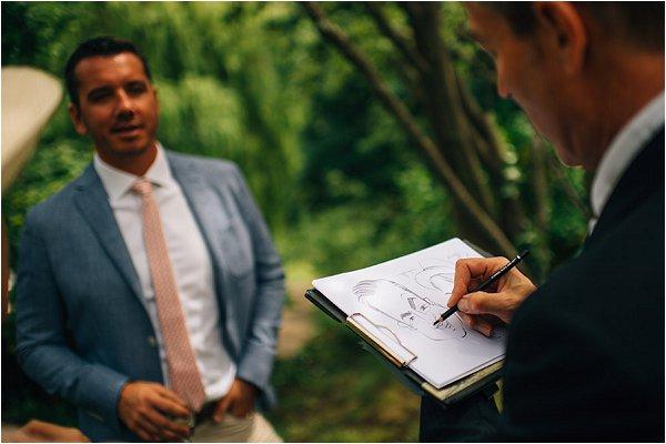 cartoonist weddings