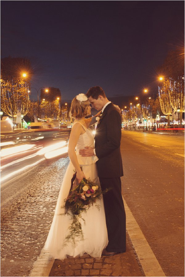 Champs Elysees wedding