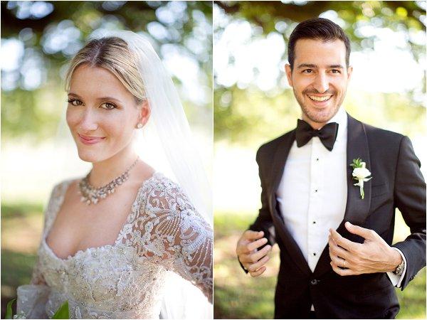 elegant bride groom