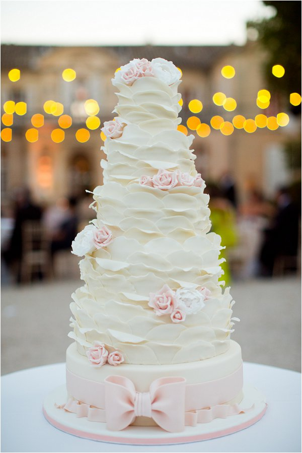 fairytale wedding cake