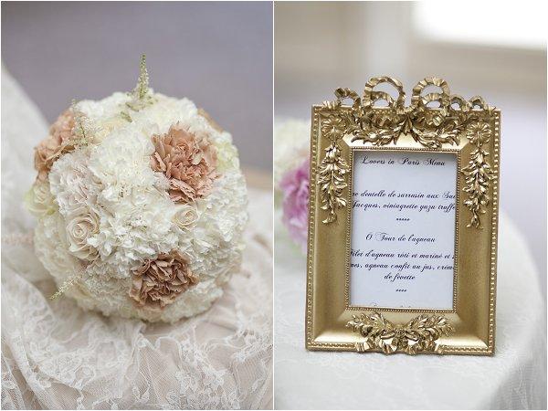 gold white wedding ideas
