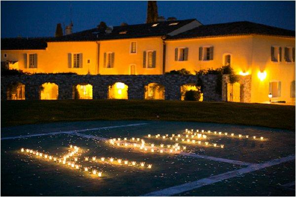 initials in candals