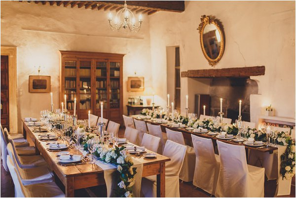 intimate wedding in winter