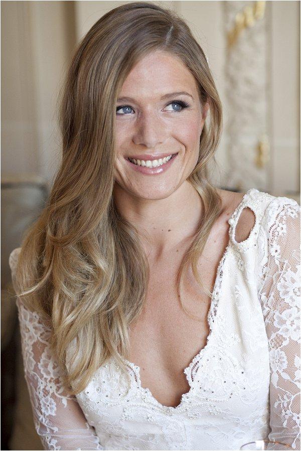 natural bridal hair and make up