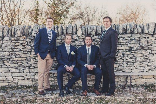 navy groomsmen