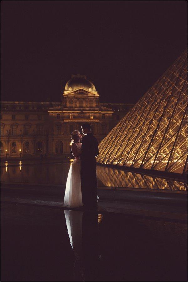 Paris at Night wedding inspiration |