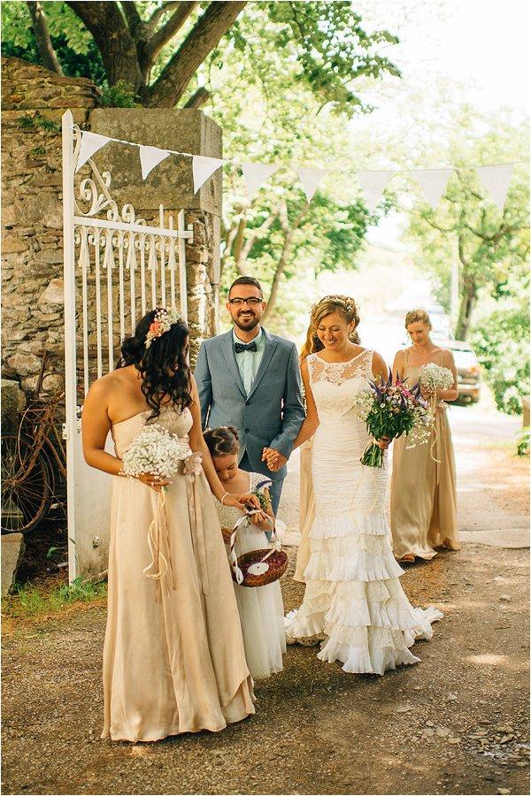 pastel wedding abroad