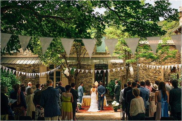 rustic wedding France