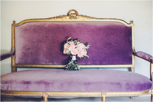 soft pink wedding flowers