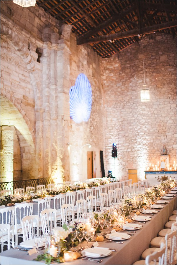 stone barn wedding reception