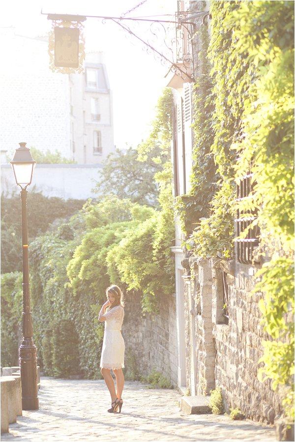 summer wedding in Paris