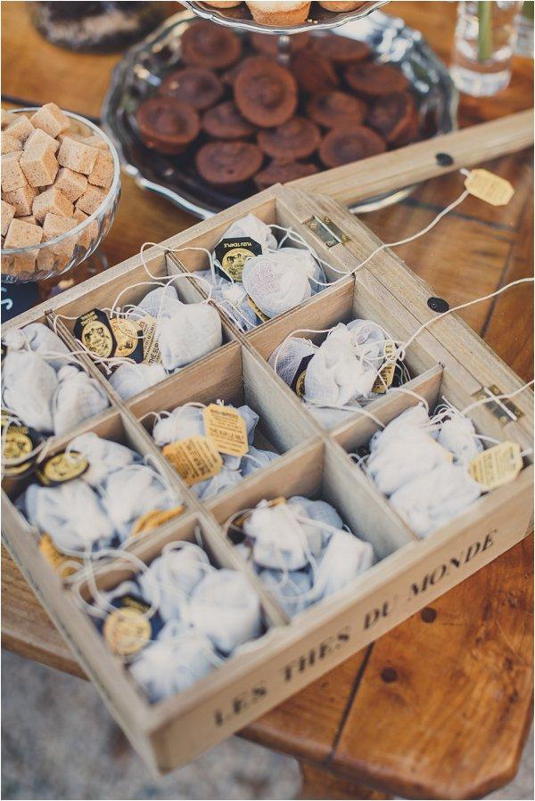 tea bag favours