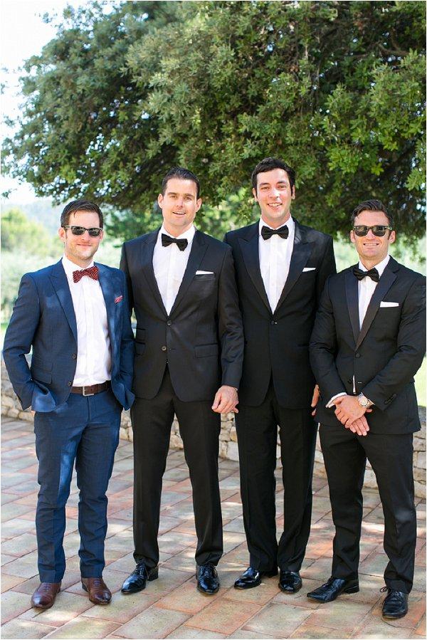 tuxedo groomsmen