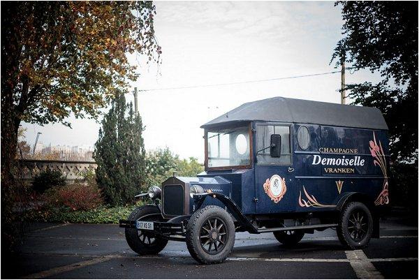 vintage French van