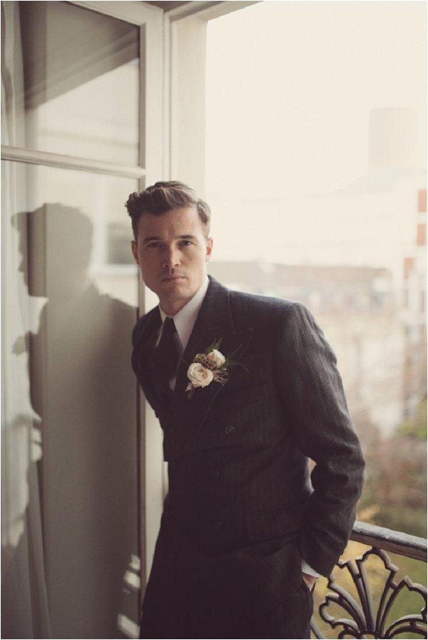 Vintage groom