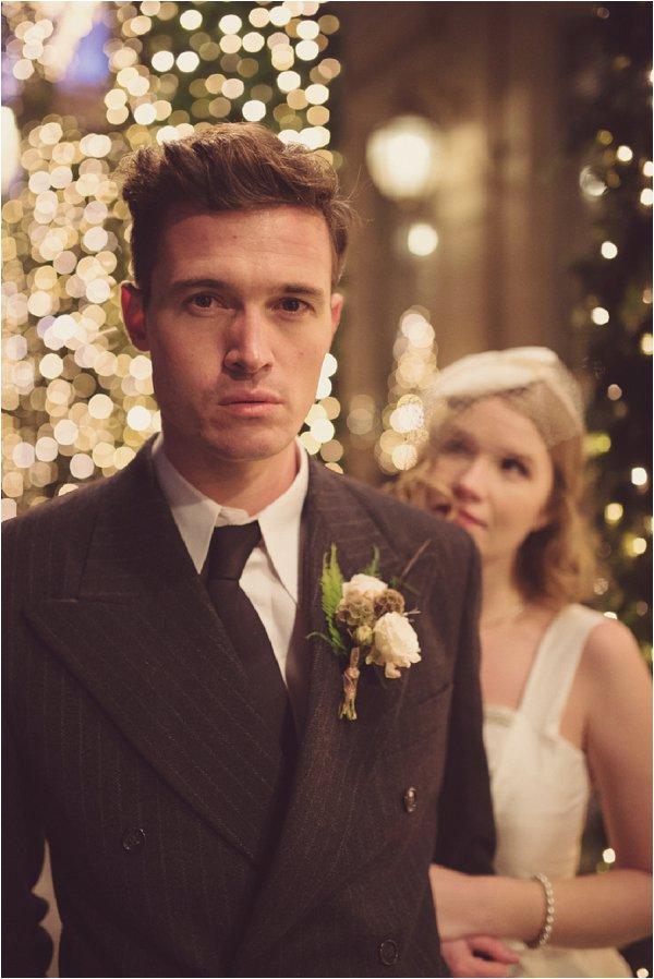 Vintage inspired groom |