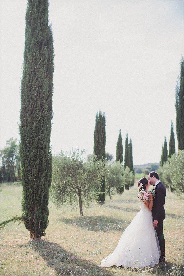 wedding at Chateau Massillan