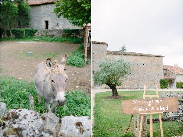 wedding in rural france