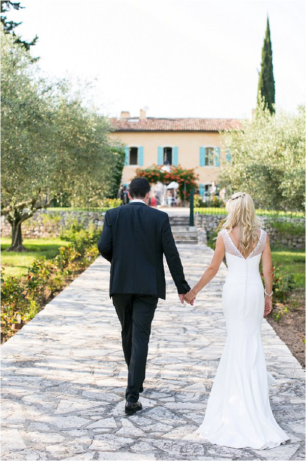 glamorous wedding in the hills of Provence