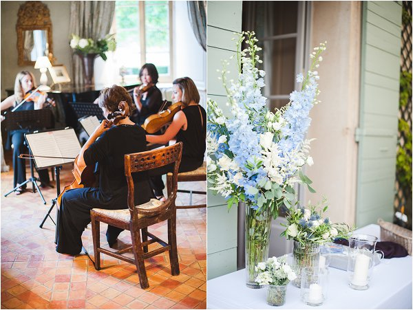 wedding quartet Provence