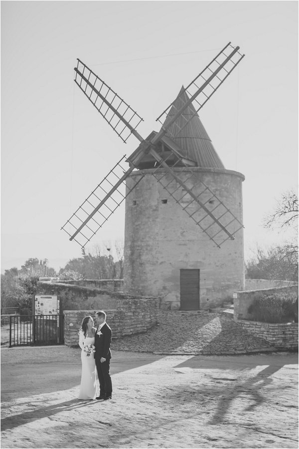 wedding windmill
