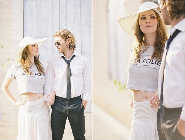 2 piece bridal outfit