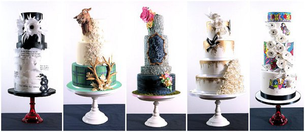 akes by Beth wedding cakes
