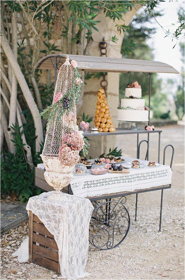 French dessert bar