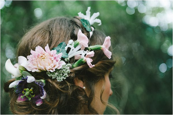 Real floral crown