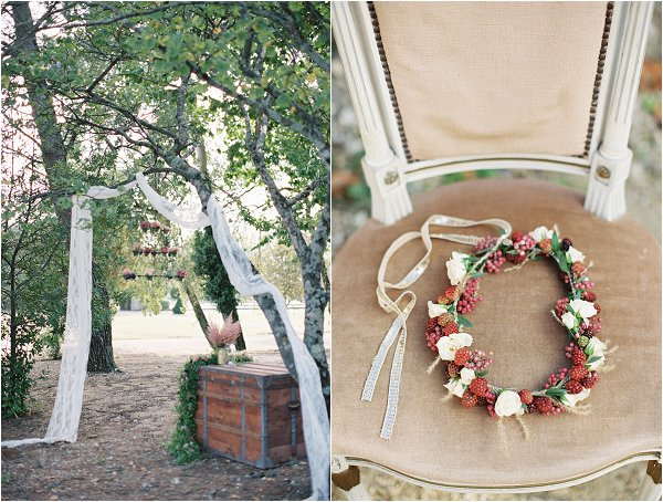 berry wedding inspiration