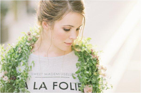 bridal floral bolero