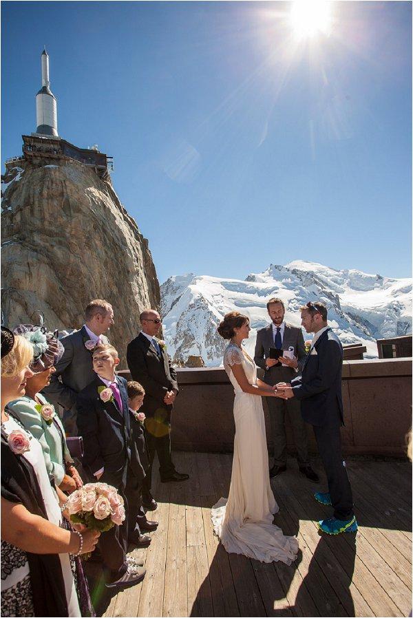 Mont-Blanc wedding