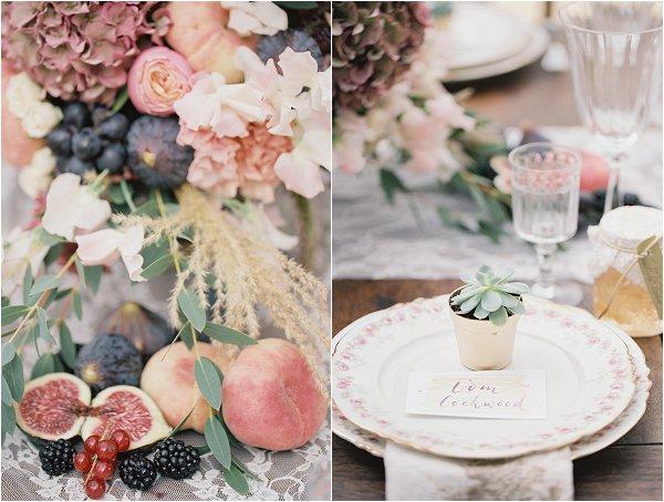 fruit wedding inspiration