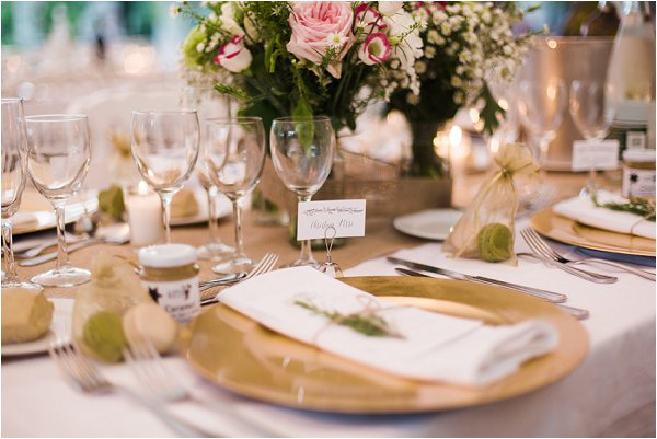 gold wedding chargers