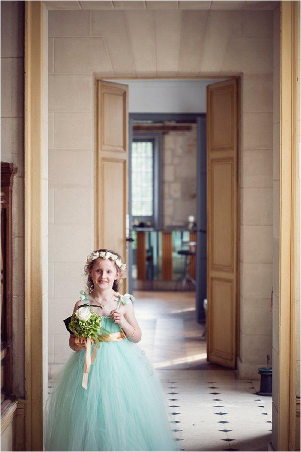 mint green flowergirl dress