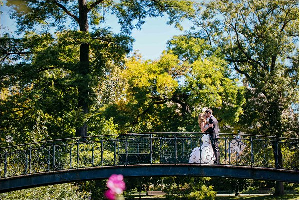 summer park wedding