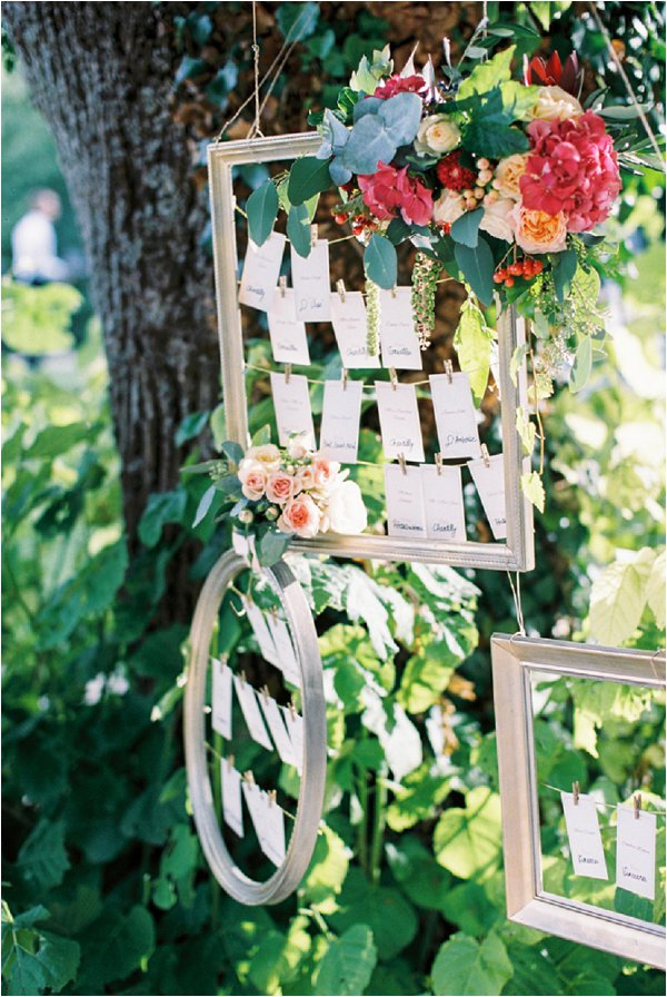 table plan picture frames
