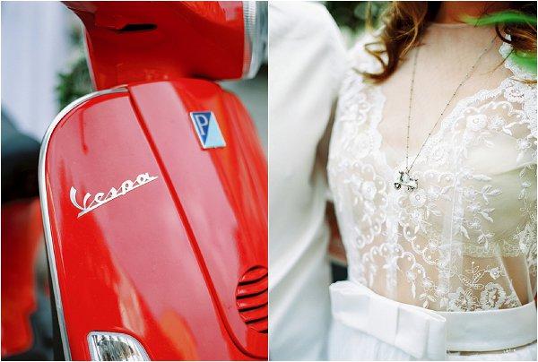 vespa bride