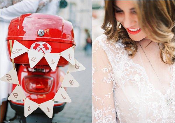 vespa just married