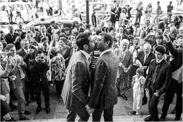 Paris gay wedding
