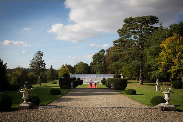 wedding at Chateau de Montgobert