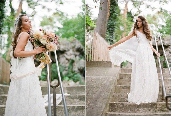 Elise Hameau Paris bride