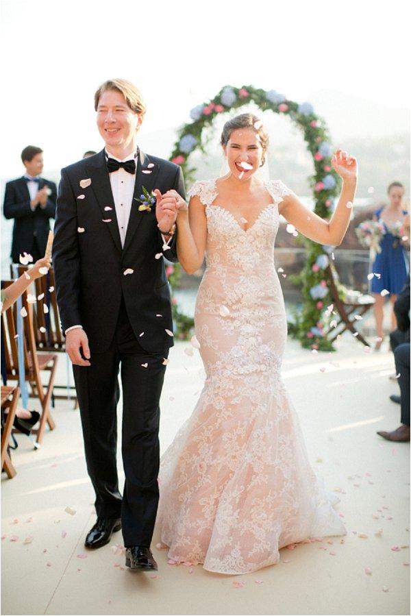 French Riviera Wedding ceremony