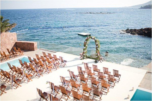 Classic French Riviera Wedding