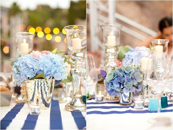 French Riviera wedding decor
