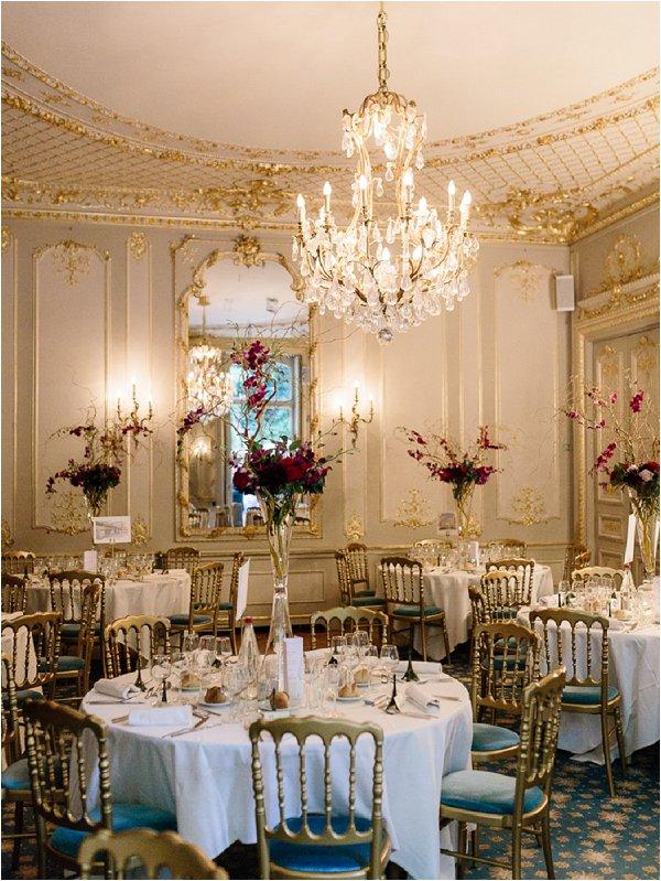 ballroom wedding in paris
