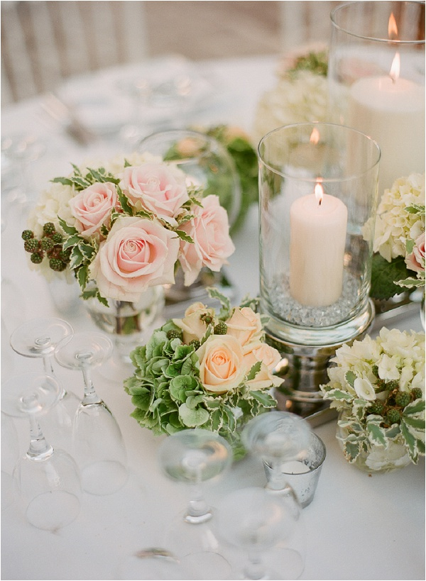 classic romantic table setting