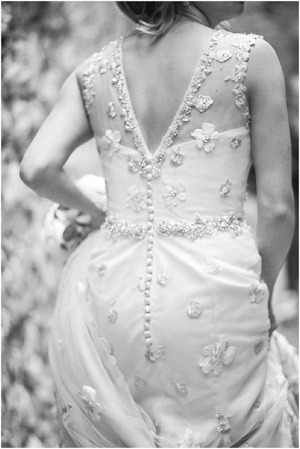 lace back justin alexander dress