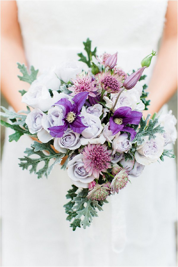 lavender wedding bouquet