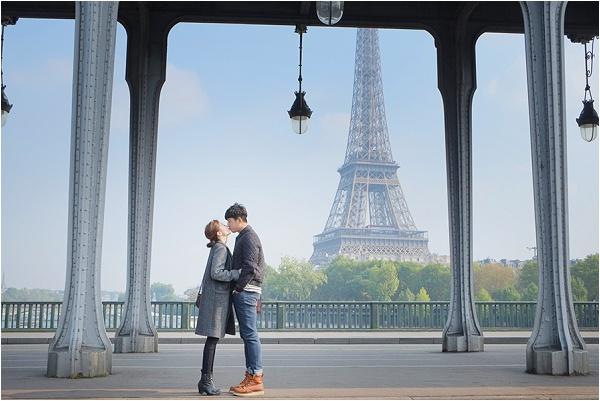 paris trip photo session
